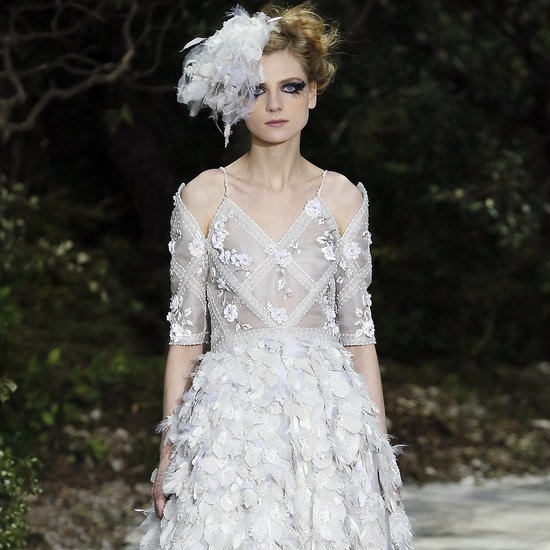 From the light-as-air dresses in Elie Saab's ready-to-wear collection to Temperley's column dresses and the pleated numbers at Chloé, head to POPSUGAR Fashion News to get a look at all the gowns, shifts, and cocktail dresses from the Spring 2013 shows, fit for any bride.