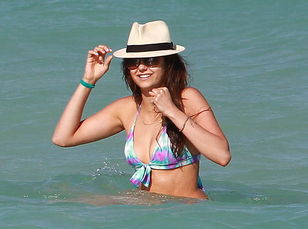 She soaked up the sun in Miami in April 2013.