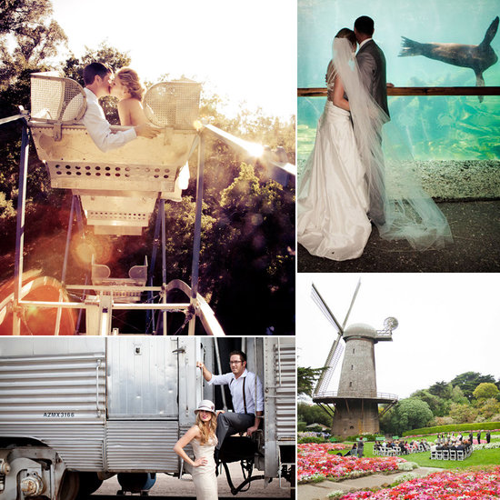 A zoo a carnival a boat popsugar wedding roundup for Nice places to get married