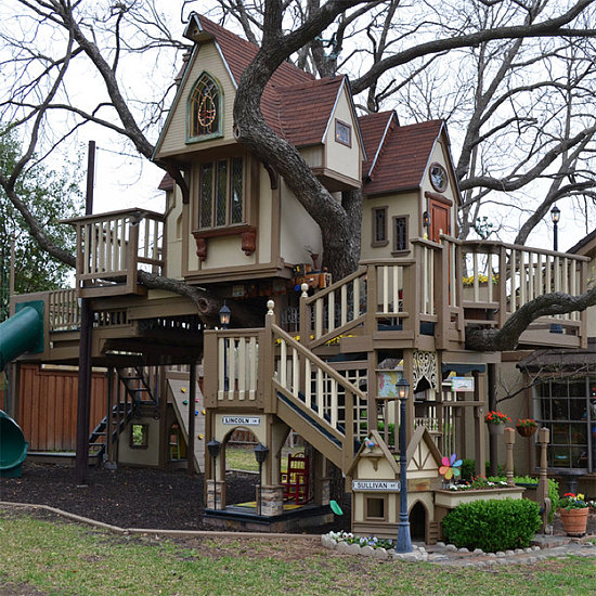 Grandparents Build Amazing Treehouse