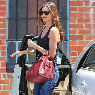 Miranda Kerr With Orlando Bloom and Son in LA