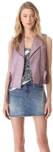 Veda Ritz Leather Vest