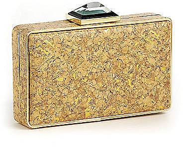 LA SERA Sienna Box Clutch