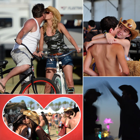 Feel the Stagecoach Love With Cute Music Festival Couples