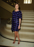 Jacquetta Wheeler wore Fall 2013 Michael Kors at Vogue and Alexandra Shulman's dinner honoring Michael Kors in London.