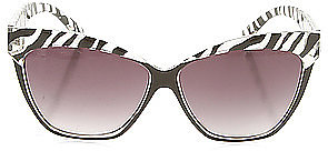*Accessories Boutique The Versailles Sunglasses in Zebra