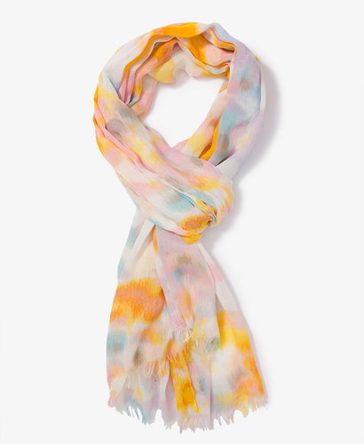 FOREVER 21 Watercolor Tie-Dye Scarf