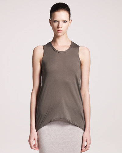 HELMUT Helmut Lang Kinetic Jersey High-Low Tank