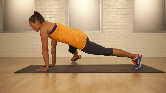 One-Minute Bikini-Core Challenge: Three-Point Touch