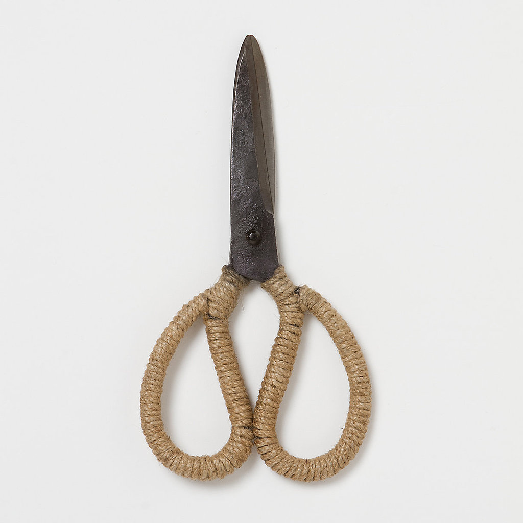 Hardcore gardeners might scoff at this jute-wrapped pair of outdoor scissors ($34), but I know just how great they'll look casually placed atop my gardening gloves and therefore find them irresistible.  — Miranda Jones, editor