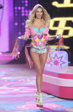 Walking in the Victoria's Secret Fashion Show was. . .