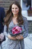 After a visit to Hope House in February, Kate's blowout looked silky, healthy, and quite perfect.