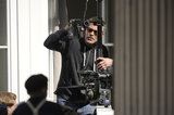 George Clooney Smiles on Set Amid Rumors of a New Film Project