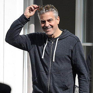 George Clooney Filming The Monuments Men | Photos