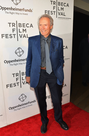 Clint Eastwood stepped out for the Tribeca Talks directors series.