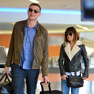 Cory Monteith With Lea Michele After Rehab
