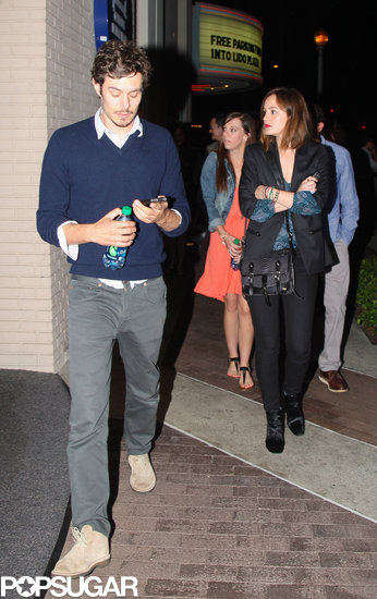 Leighton Meester and Adam Brody Have a Movie Date