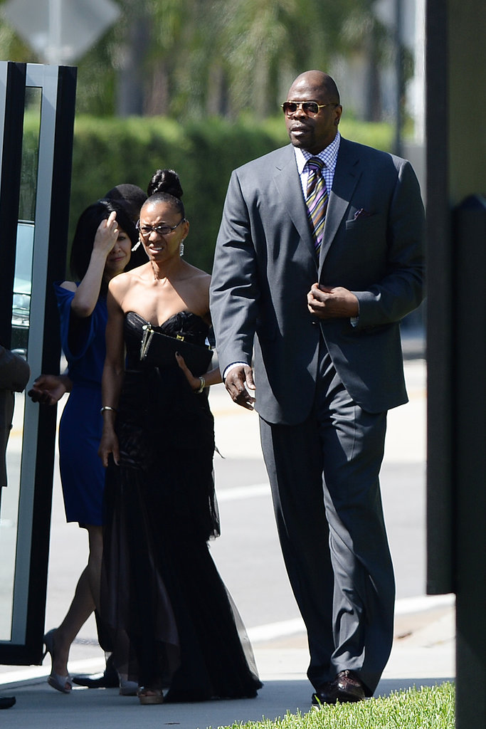 Patrick Ewing brought a date to Michael Jordan's wedding.