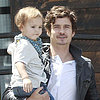 Orlando Bloom and Son Flynn in LA | Photos