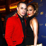 Jennifer Lopez and Casper Smart at Nightclub Opening