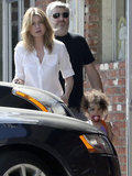 Ellen Pompeo took her daughter, Stella Ivery, to an LA pet store on Saturday.