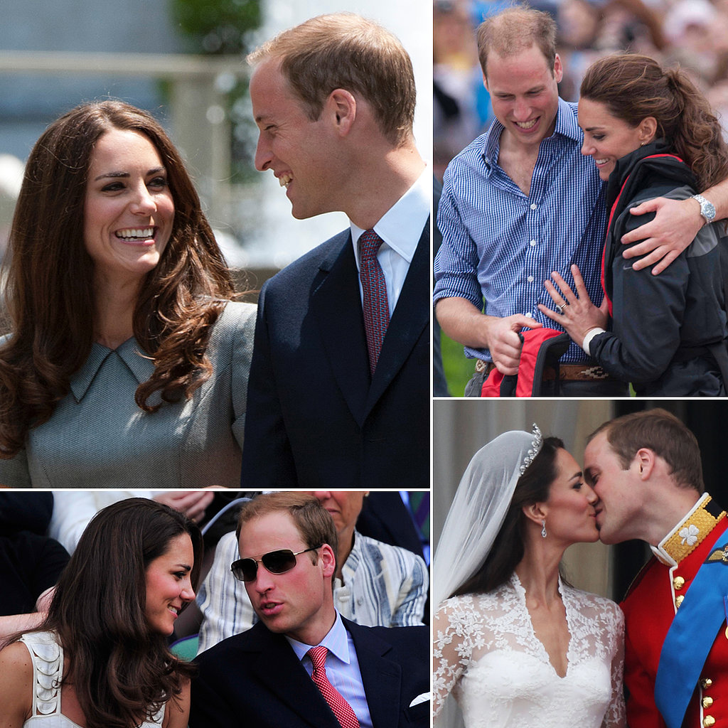 See the Royal Couple's Cutest PDA Moments