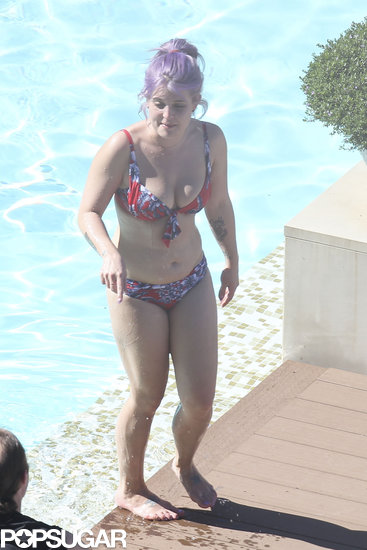 Kelly Osbourne Takes a Bikini Dip Down Under