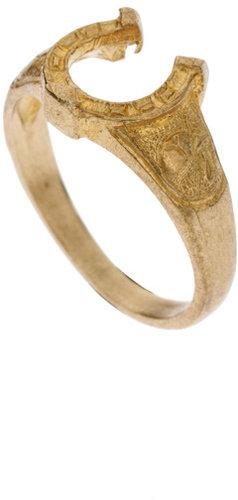 Malaya Horseshoe Ring