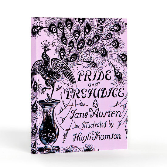 Get your Jane Austen fix with this whimsical Pride and Prejudice iPad case ($50).