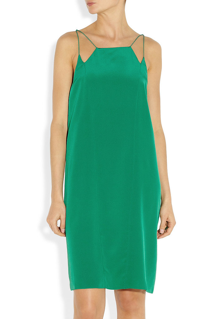 Tibi Spectator silk crepe de chine dress ($385)
