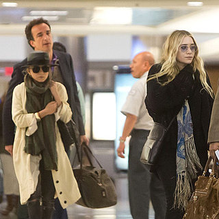 Mary-Kate Olsen and Ashley Olsen With Olivier Sarkozy Photos