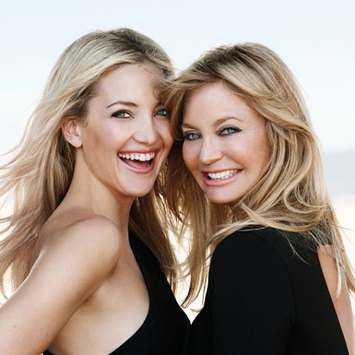Kate Hudson and Goldie Hawn Talk Beauty & Motherhood,