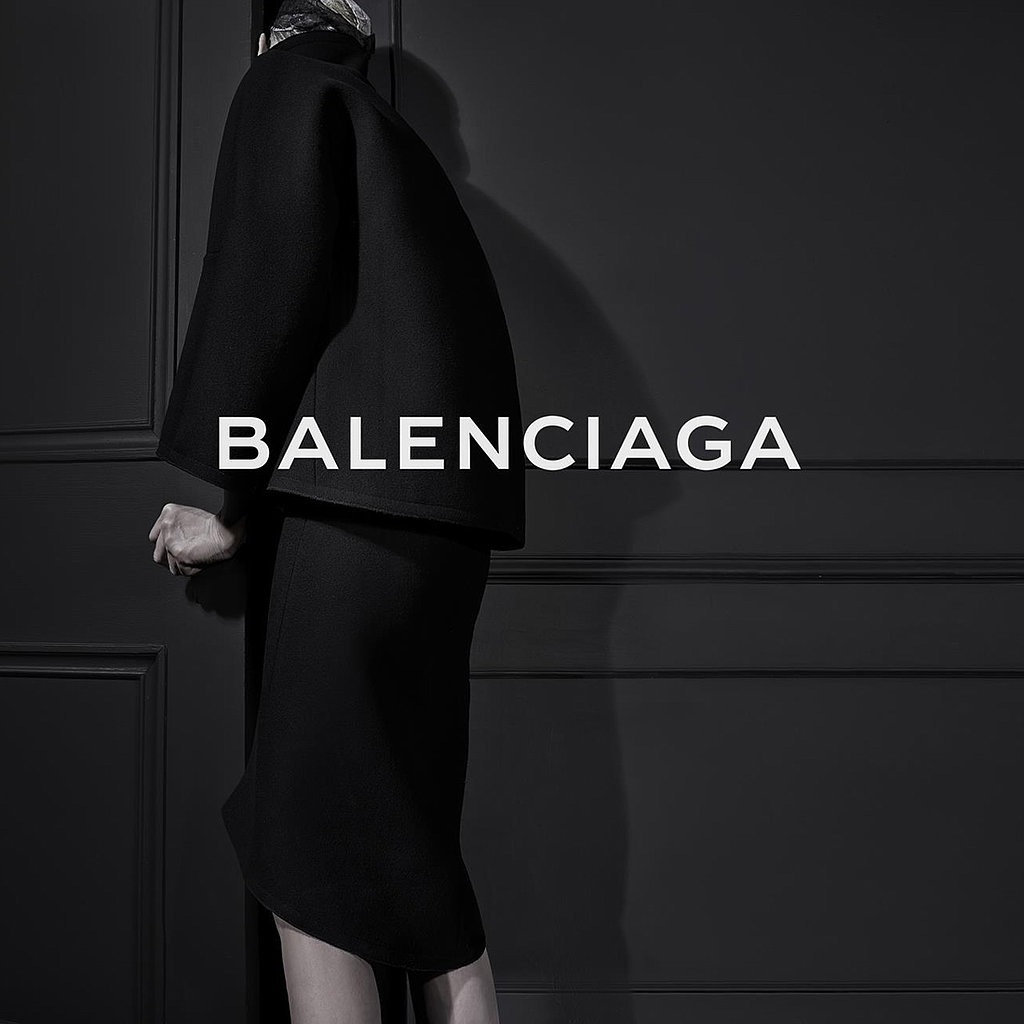 Back of Kristen McMenamy's Head Stars in Alexander Wang's First Balenciaga Campaign