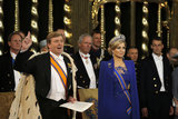 King Willem-Alexander was sworn in during the ceremony.