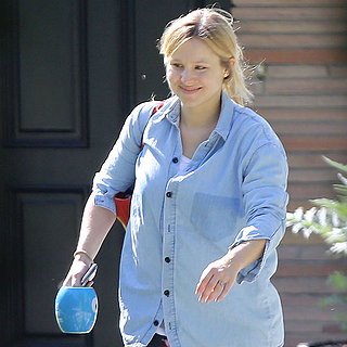 Kristen Bell's First Pictures After Giving Birth