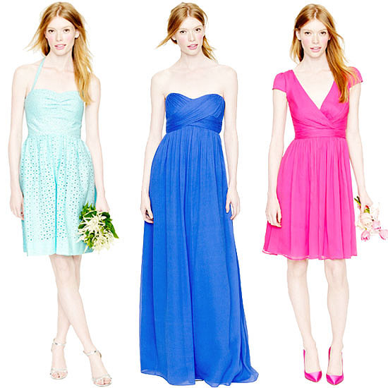 Shop the Colorwheel: The Best Bridesmaids Dresses in Every Hue