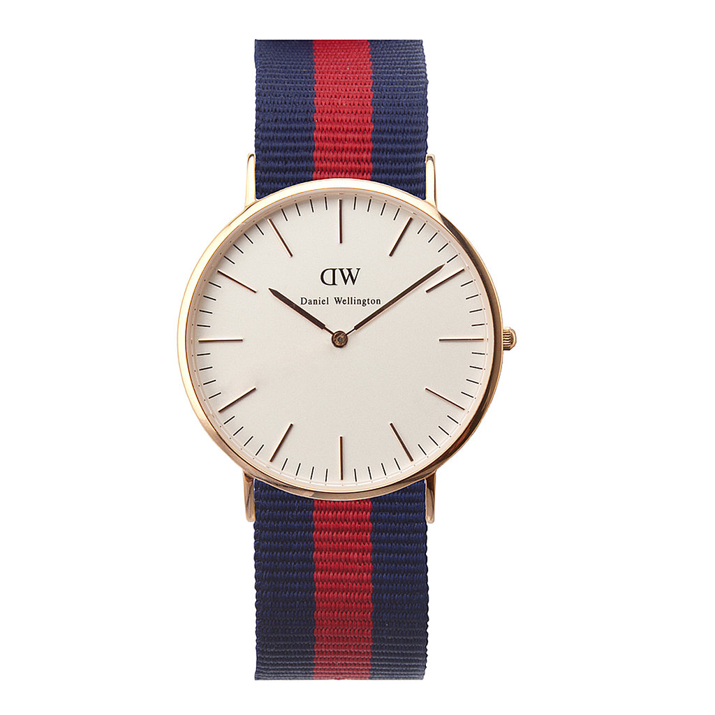Balmy Summer days can often mean losing track of time. To combat that this Summer, I'm going to make sure I'm always wearing a timepiece like Daniel Wellington's Classic Oxford ($195). The rose-gold face keeps the watch on trend, but the slim profile means it won't weigh you down. — Justin Fenner