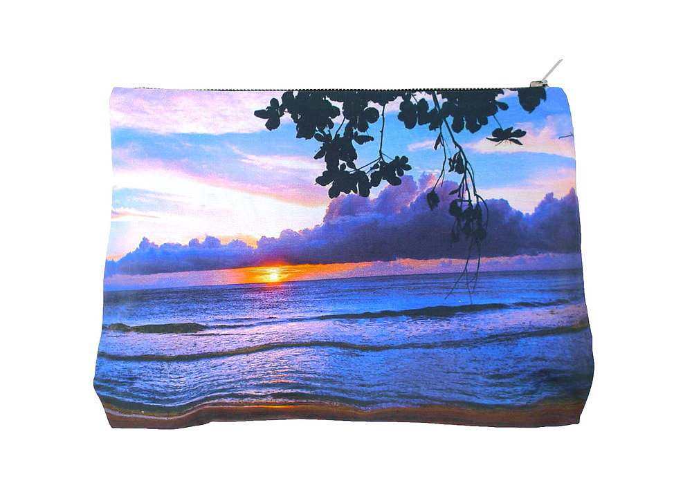 Whether or not you have a vacation planned this month, you can get yourself in a tropical mood with Samudra's Rocky Point Pouch ($65). I love the beachy photo print, and the sturdy canvas structure makes it ideal for bringing to the beach or the park. — Britt Stephens