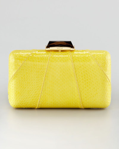 Kotur Espey Snakeskin Clutch Bag