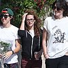 Kristen Stewart Hangs Out With Friends in LA | Video
