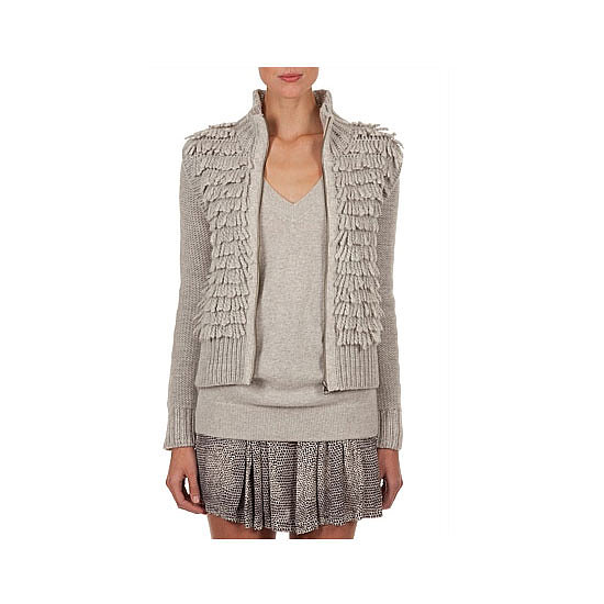 Shag-a-licious, no? But seriously, adding texture is a really easy way to create a fun feature on an otherwise dull, Winter outfit. I'll shimmying around in this, for sure. — Alison, health and beauty editor Knit, $179, Country Road