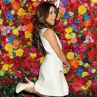 Eva Longoria at Ferragamo's Launch Party