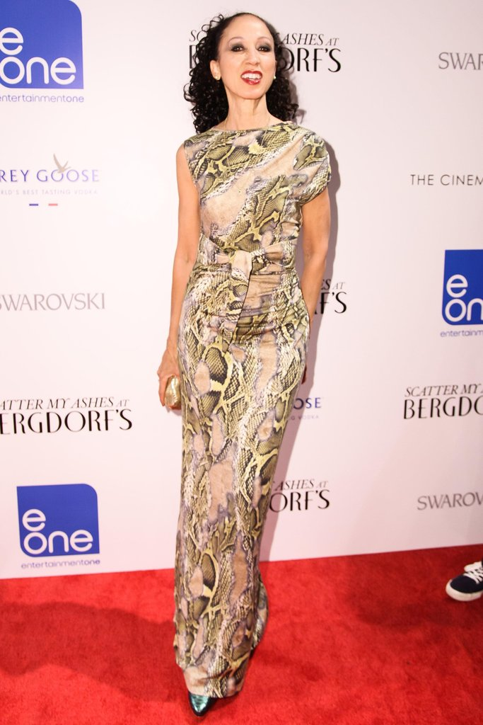 Pat Cleveland wore vintage Stephen Burrows at the premiere of Scatter My Ashes at Bergdorf Goodman in New York. Source: Matteo Prandoni/BFAnyc.com