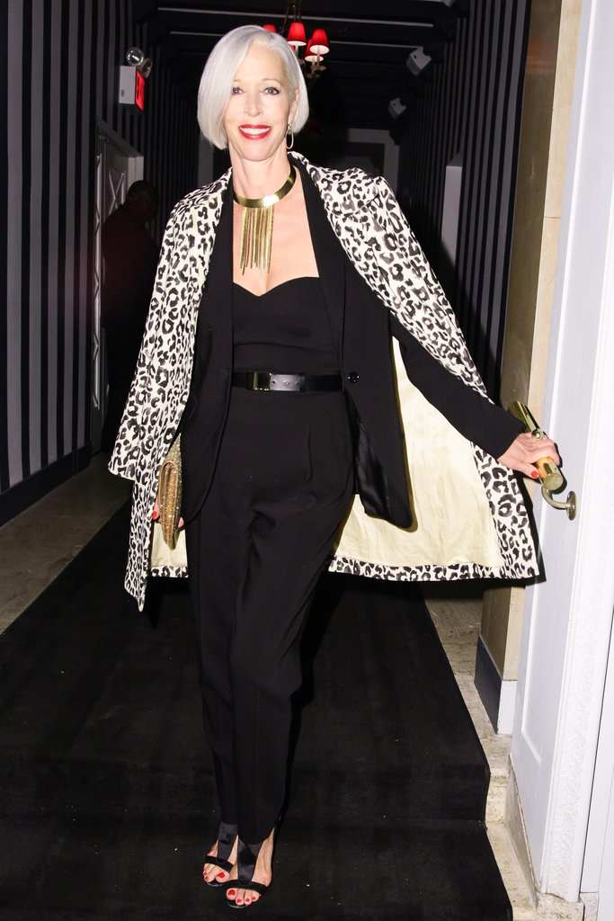 Linda Fargo wore Michael Kors at the Scatter My Ashes at Bergdorf Goodman afterparty in New York. Source: Matteo Prandoni/BFAnyc.com