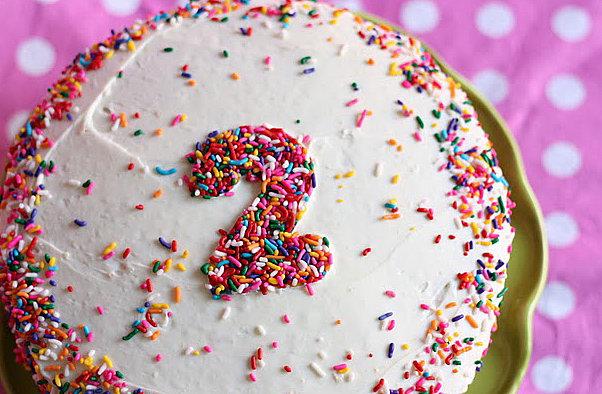 Sprinkle Cake Topper