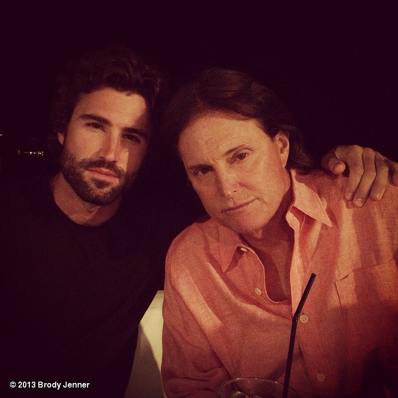 Brody Jenner spent time with his dad, Bruce, while on vacation in Greece. Source: Brody Jenner on WhoSay