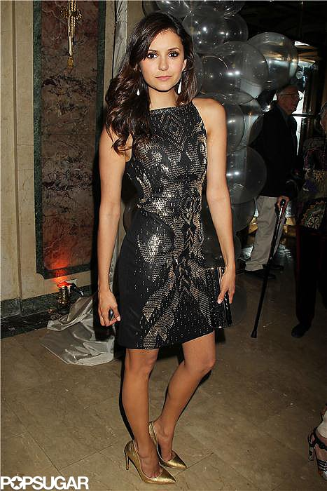 Nina Dobrev worked her stuff at the afterparty.