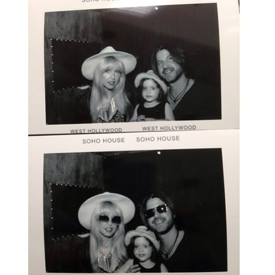 It was a Soho House kind of day for Rachel Zoe, Skyler Berman, and Rodger Berman. Source: Instagram user rachelzoe