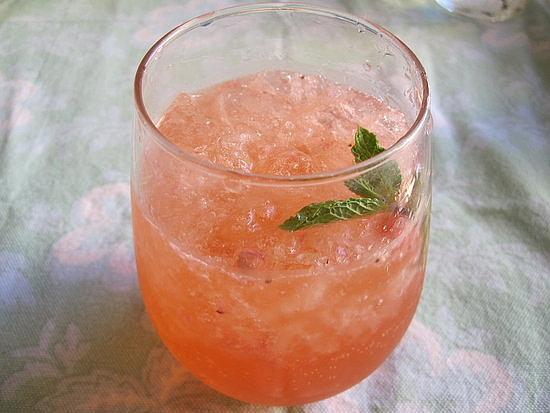 Strawberry Tequila Cocktail