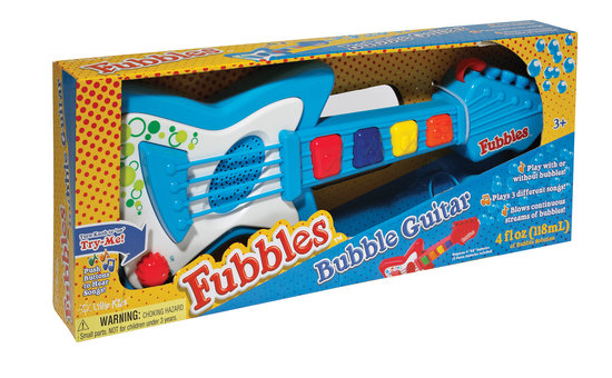 Little Kids Fubbles No-Spill Bubble Guitar